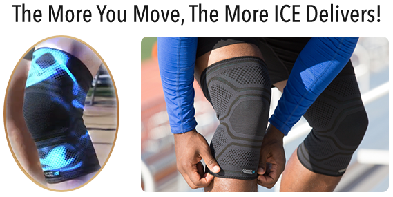 Copper Fit® Ice Knee Sleeves