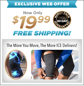 Order Copper Fit® Ice Knee Sleeves Now!